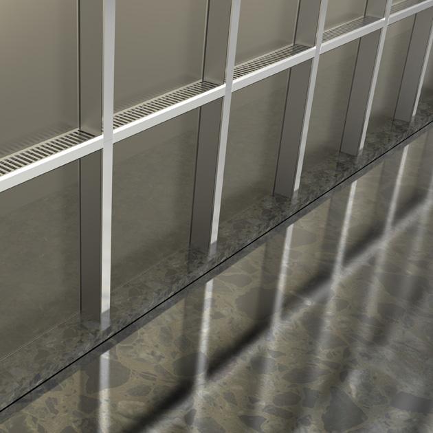 该款产品可明显增强玻璃幕墙的节能,保温,防结露等功能.